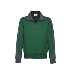 Sweatjacke Contrast Performance aus 50% Baumwolle 50 % Polyester Nr. 477