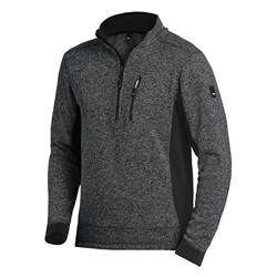 FHB Pullover Strick-Fleece-Troyer Patrick