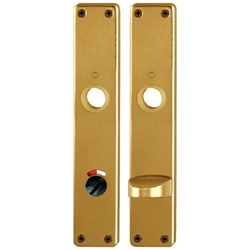 Hoppe Bad/WC-Langschild 202SP/RW-SK/OL F4 Alu Bronze Nr. 6189401