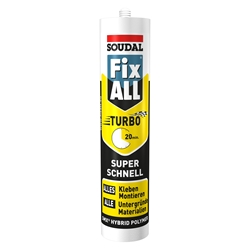 Soudal Fix All Turbo weiß Kartusche a 290ml SMX Hybrid Polymer Nr. 122237
